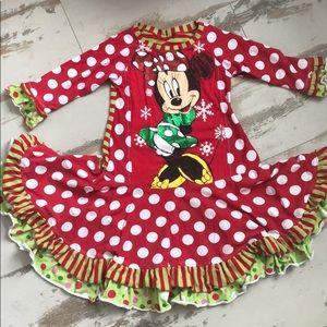 Other - Vguc Mickey custom Christmas dress
